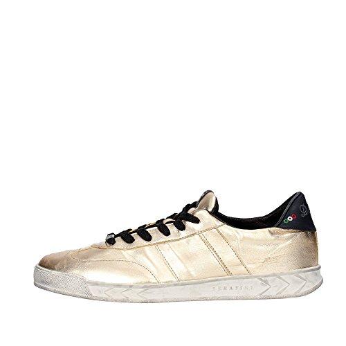 Serafini CAMP.27 Sneakers Uomo Pelle Oro Oro 42