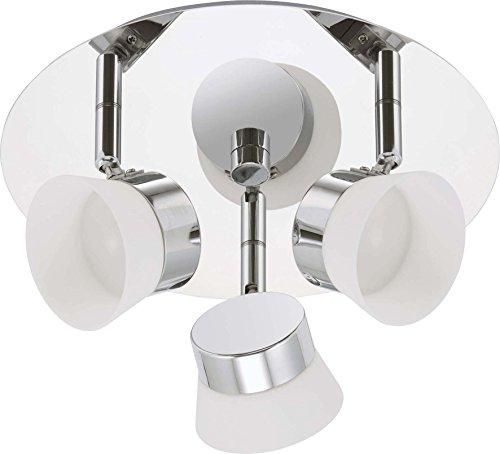 Briloner LED plafonnier de salle de bain 2209-038 CHR/Metal pour plafond/applique murale plastique 4002707300274