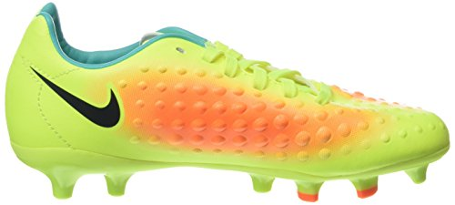 Nike Jr Magista Opus Ii Fg, Chaussures de Football Garçon Jaune (Volt/Black-Total Orange-Clear Jade)