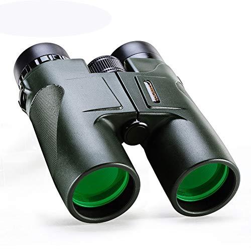 WLDOCA 10X42 HD Fernglas für Erwachsene mit Low Light Vision, kompakte Ferngläser für Vogelbeobachtung, Jagd, Sportveranstaltungen, Reisen, Abenteuer und Konzerte - Beste Low-light Digital Kamera