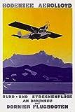 The Poster Corp Marcel Dornier - Bodensee Aerolloyd Flying