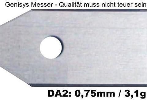 *** 9 Messer (0,75mm / 3,1g) & Schrauben *** für den Husqvarna Automower und Gardena R40Li/R70Li