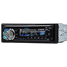 XTRONS® Universal 24V in-dash 1DIN coche estéreo pantalla LCD FM USB SD MP3CD VCD reproductor de DVD
