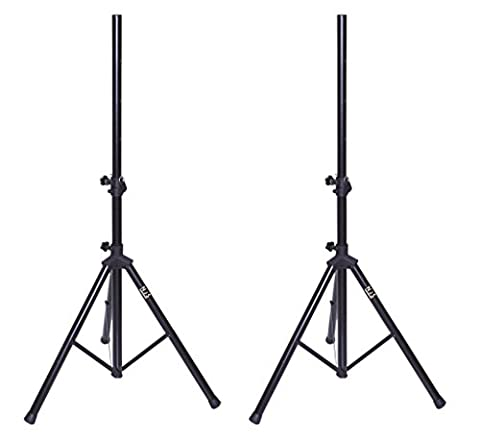 NJS Tripod PA Speaker Stands with Carry Bag Kit
