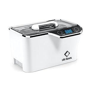LifeBasis Ultraschallreiniger – Ultraschallreinigungsgerät 600ml Digitaler Ultraschallreiniger Ultraschallgerät 42KHz Ultraschall Gerät für Reinigung von Brille Schmuck Uhren MEHRWEG