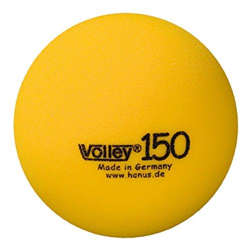 VOLLEY Schaumstoffball unbeschichtet, ø 15 cm, gelb