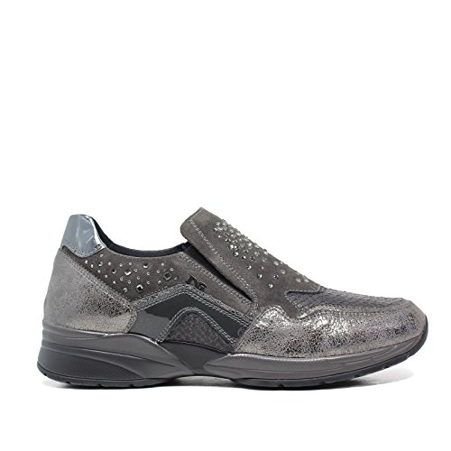 Nero Giardini Sneakers donna A616033D 101 Antracite Made in Italy Autunno Inverno 2016 2017