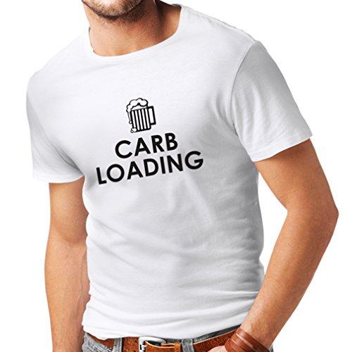 lepni.me Männer T-Shirt Kohlenhydratlade, Tolles Trainingsshirt oder Sarkastisch, Humorvolles, Nicht funktionierendes Shirt (XXXX-Large...