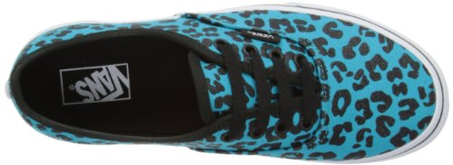 Vans K Authentic, Unisex-Kinder High-Top Sneaker Türkis (glitter Cheetah/peacock)