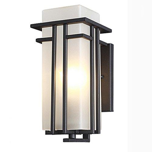 SF - Applique Murale Contemporaine Simple Et Simple En Plein Air Lampe De Lumière Extérieure Étanche Murale Lampe De Jardin Mur