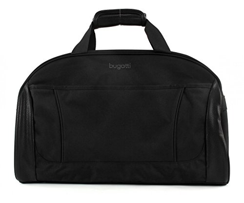 "Bugatti Travel bag ""Cosmos"" in black Reisetasche, 50 cm, 43.2 liters, Schwarz (Black)"