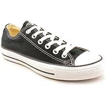 Converse - All Star OX - M9166 - Color: Blanco-Negro - Size: 40.0
