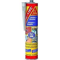 Adhesivo poliuretanico sikaflex-11fc gris claro 300ml.