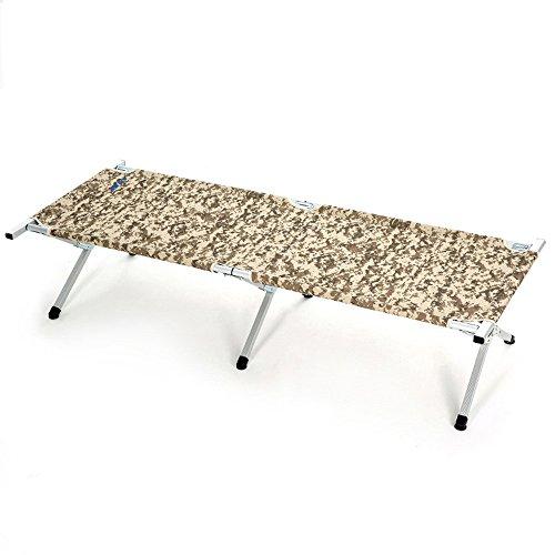 tragbar Faltbare Militärbett tragbare Sport Camping Kinderbett mit kostenloser Aufbewahrungstasche flexibel ()