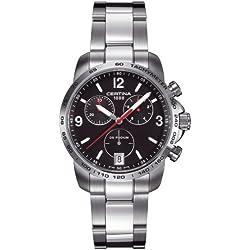 Certina B3563-01 C001.417.11.057.00 - Reloj para hombres, correa de acero inoxidable color plateado