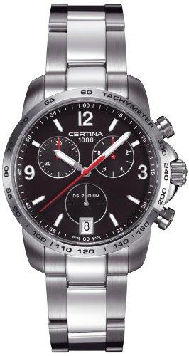 Certina Herren-Armbanduhr XL Chronograph Quarz Edelstahl C001.417.11.057.00