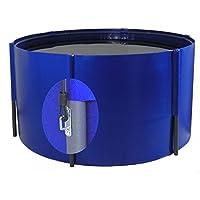 Plegable Platillos 300x 80cm, 5.600L, azul, con red ojales, koibecken