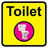 Square Toilet Dementia Sign - 300 x 300mm