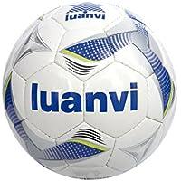 Luanvi Balón Cup T4, Unisex, (Royal/Pistacho), 4