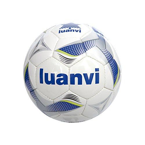 Luanvi Balón Cup T4, Unisex, Multicolor (Royal / Pistacho), 4