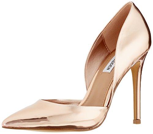 Born, Zapatos de Tacón con Punta Abierta para Mujer, Negro (Nero Black), 36 EU Steve Madden