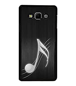 Fuson Premium 2D Back Case Cover Music is Life With Multi Background Degined For Samsung Galaxy A8::Samsung Galaxy A8 A800F