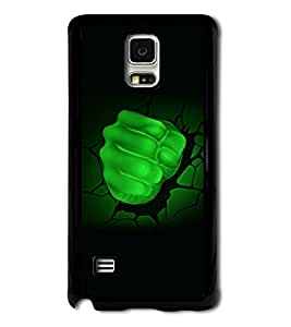 Go Yankee Green Punch with a Black Background Back Cover For Samsung Galaxy S5