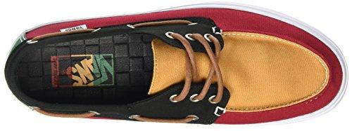 Vans Chauffeur SF, Baskets Basses Homme Multicolore (Tri Tone/Rasta)