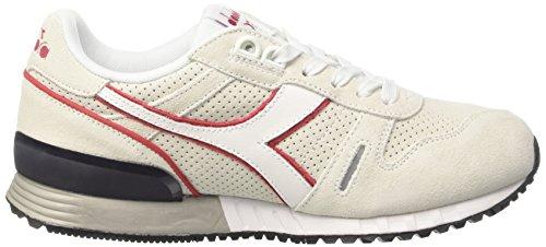 Unisex Premio Peperoncino Titano Off white bianco Bassa Sneaker Rosso Diadora wApgRqxx