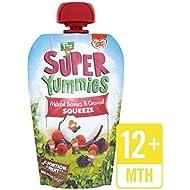 Súper Bayas Mezcladas Yummies Y Apretón De Coco 100G Bolsa - Paquete de 6