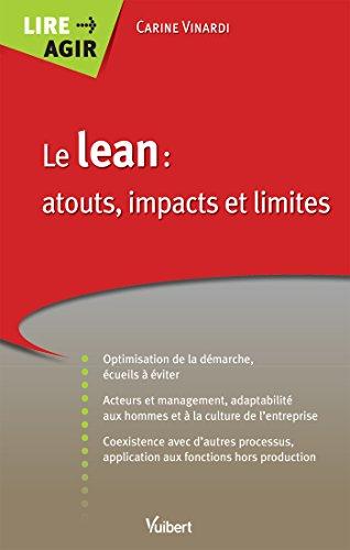 Le lean : atouts, impacts et limites (Lire Agir) par Carine Vinardi