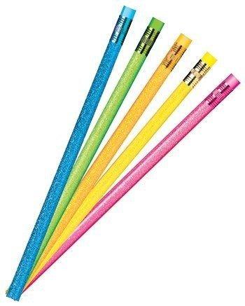 JR Mond Pencil Co. Jrm52119B Pencil Glitter Sparkle Asst Dozen -