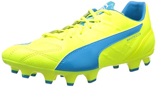 puma-evospeed-34-lth-fg-botas-de-ftbol-para-hombre-amarillo-gelb-safety-yellow-atomic-blue-white-04-