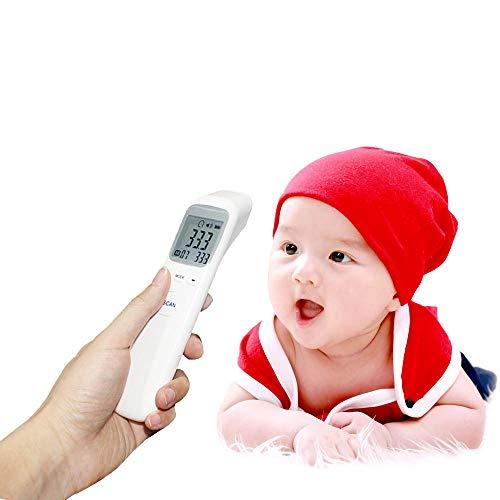 Infrarot Thermometer Digitale Temperaturanzeige Körper und Objekttemperatur Messen Wie Babyflaschen Badewasser Körper des Erwachsenen und des Kindes Vermeiden Sie effektiv Fieber Überhitzt zu Kalt
