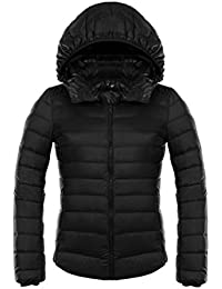 Fangcheng Winter Duck Down Jacket Donna Hooded Ultra Light Down Jacket Donna  Giacca Invernale 87f0052cd27f