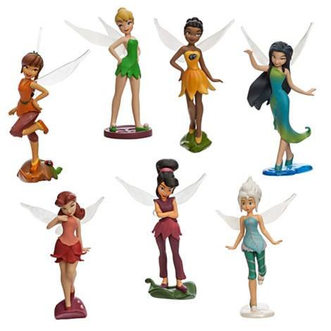 Disney Princesa Oficial 7 Estatuilla Playset