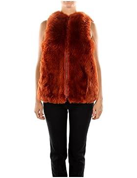 FM509342XF0R4K Fendi Chalecos Mujer Pelaje Rojo