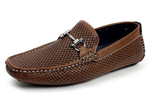 uomo-slip-on-stilista-italiano-mocassini-driving-scarpe-casual-ponte-della-barca-alla-moda-mocassini