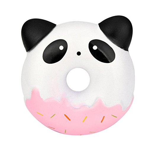JiaMeng Juguetes de descompresión 2018,El Nuevo Squishies Cute Panda Donuts Kawaii Cream Scented Slow Rising Stress Relief Toy (MulticolorB)