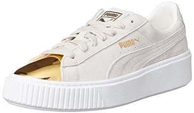 PUMA Suede Platform Gold Damen Sneaker