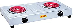 POWERPACK 1250W + 1250W Hot Plate Induction Cooktop Made In INDIA