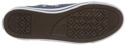 Converse - As Dainty Chambray, Sneaker Unisex – Adulto Blue (Marine)