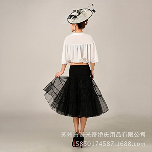 Womens Retro mariage Petticoat Reifrock Unterrock Rockabilly Dress Puff Jupe 17#