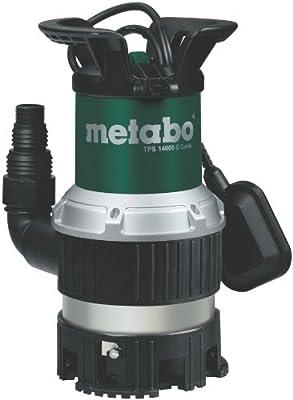Metabo 251400000 Kombi-Tauchpumpe TPS14000S, 770W, 230Volt, 50Hz