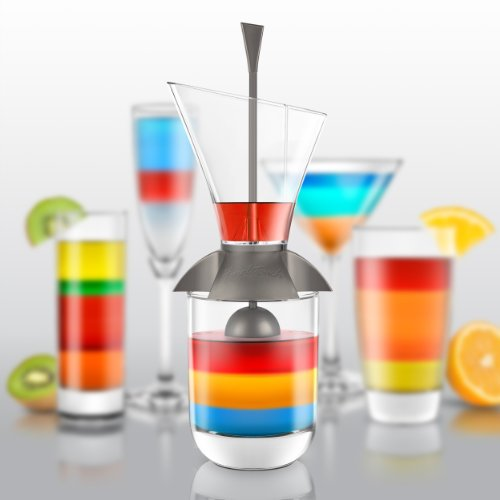 Verseur Multicouche - Kit à cocktail Arc en Ciel