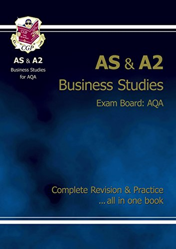 AS/A2 Level Business Studies AQA Complete Revision for sale  Delivered anywhere in UK