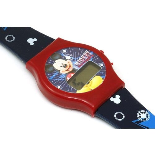 Disney Mickey - 33944 - Mickey Mouse digitale Kinderuhr mit Plastikarmband (Mouse Watch Digital Mickey)
