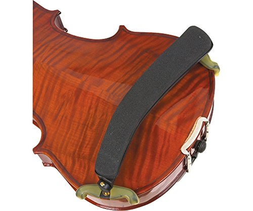 Kun Original-Soporte de hombro para violín 1/2-3/4tamaño negro (1/2-3/4tamaño negro)