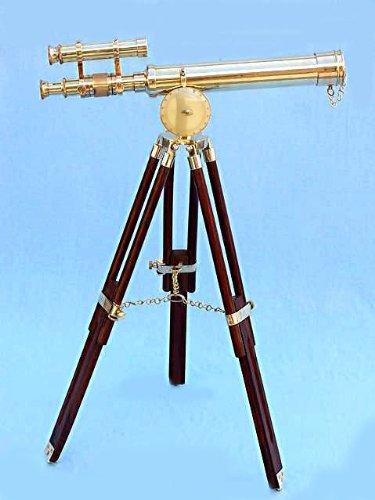 Gilbert, Londres, 45 cm latón antiguo telescopio