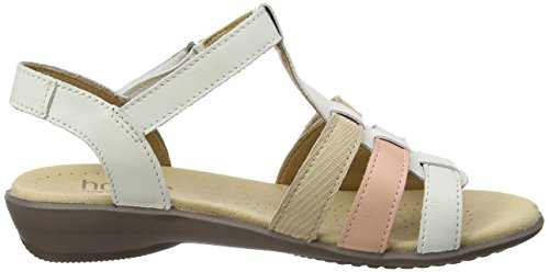 Hotter Sol, Sandales  Bout ouvert femme Beige (Nude Multi)